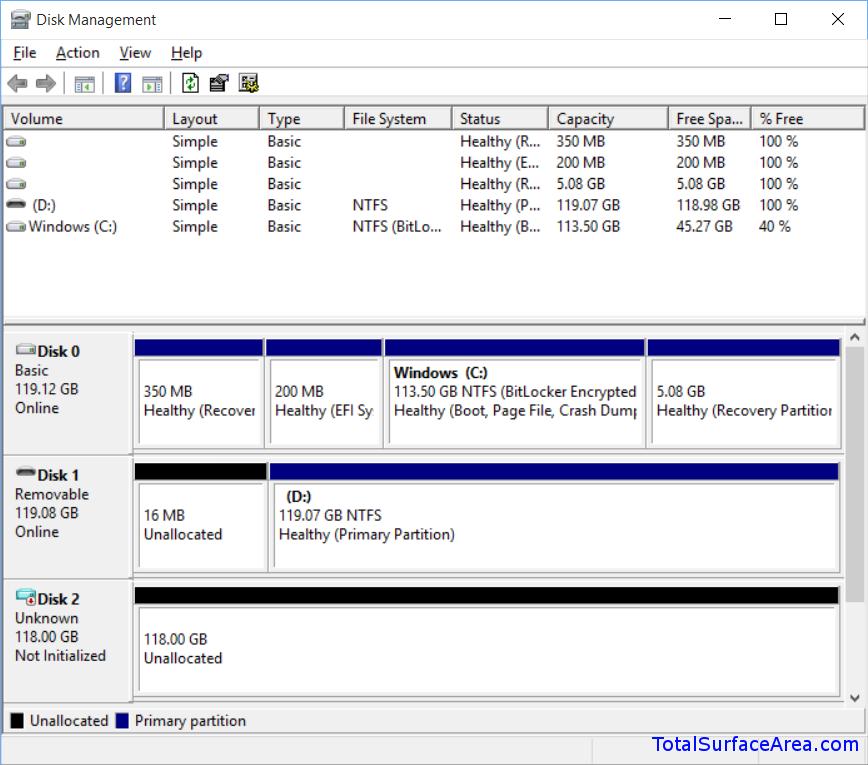 OneDrive VHD Created